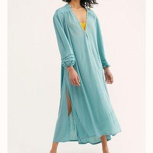NWT FREE PEOPLE Beach Primrose Maxi Dress SZ S